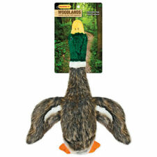 Ruffin' It 16266 Woodlands Plush Mallard Dog Toy Large