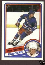 1984-85 Topps Hockey Peter Sundstrom #116 Rangers NM/MT