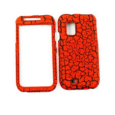 Phone Case For Samsung Galaxy S Fascinate i500 Hard Cover Orange Earth Cracked