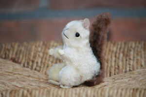 Antique Hermann Squirrel Mohair Very Rare 1960s