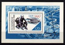 7905-GERMANY EAST DDR 1988 Winter Olympics Games Calgary **MNH