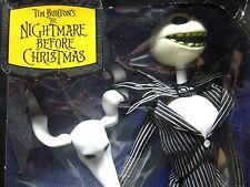 NIGHTMARE BEFORE CHRISTMAS figure talking Jack Skellington Tim Burton 2003 ZERO