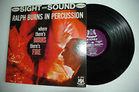 33RPM Jazz Vinyl Where There's BURNS there's Fire-Ralph Burns W5001ST 110612LAE