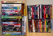 HUGE LOT of 62 DVD movies COLLECTION series / documentary / comedy / horror