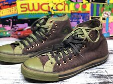Converse Chuck Taylor All Star Sneakers Mens Size 11 / 45 High Top Green Brown