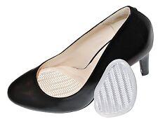 Cojines de pie diseño acanalado transparente antideslizante Metatarso Bola de alivio del dolor de pies