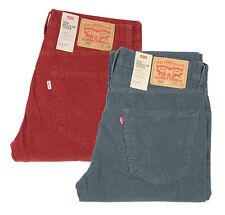 Levi's Jeans 502 Stretch Taper Corduroy Pants Straight Below Waist