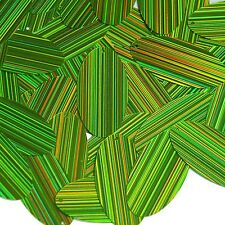 Lime Green Navette Leaf Sequin 1.5 inch City Lights Reflective Couture Paillette