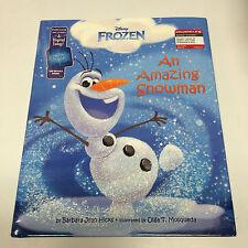 Disney's FROZEN: AN AMAZING SNOWMAN [TARGET-EXCLUSIVE PICTURE BOOK, 2014] - NEW!