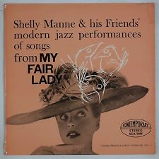 SHELLY MANNE & HIS FRIENDS: Modern Jazz, My Fair Lady UK Contemporary Vogue LP