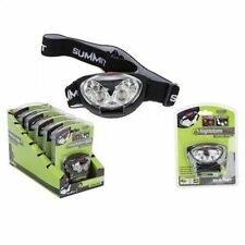 Rubber Camping & Hiking Headlamps with 3 Batteries