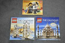 Lego lot of 3 Calendars 2012 2013 2016 Construction Collectors