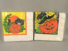Halloween Beverage Vintage Napkins Gibson Party Hour 2 Packages Unopened
