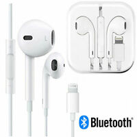 New Wired Bluetooth Lighting Earbuds Earpods Headphones Headset For Apple iPhone