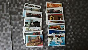 Americana Schiff- und Eisenbahn Parade 1971 ca. 70 verschiedene Bilder