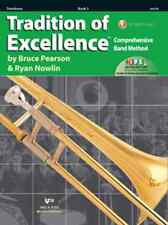 Tradition Of Excellence-Trombone Music Book/Internet Level 3 Brand New On Sale!