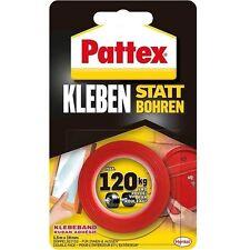 Pattex Kleben statt Bohren Klebeband, 1,5 m, doppelseitiges Klebeband PXMT2