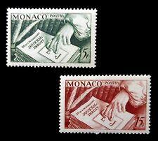 MONACO 1953 Journal (2) SG473/4 U/M NB197