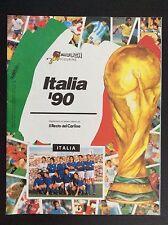 ALBUM CALCIATORI ITALIA 90 - EUROFLASH VUOTO EMPTY 1990 OTTIMO / EDICOLA