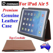 HiEnd Genuine Leather Case Cover For iPad Air 5(CHINAO Smart SLEEP/WAKE Pouch!)