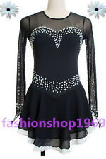 Ice Figure Skating Dress Baton Twilring Dance Dress Tap/Custome Competition x355