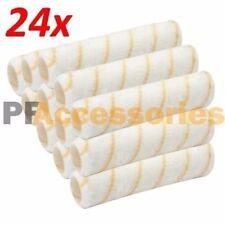"""24 Pcs Reusable Paint Roller Covers 9"""" x 3/8"""" Nap Washable PVC Plastic Core NEW"""