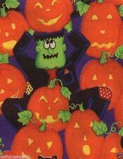 Jacks Monster Pumpkin Patch Quilt Fabric - 1 Yard