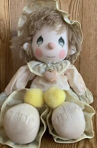 Applause Clown Doll Soft Sculpture 14in Precious Moments Donny 1985 Hang Tags