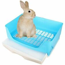 Large Rabbit Litter Box Drawer Toilet Trainer Pet Animal Guinea Pig Chinchilla