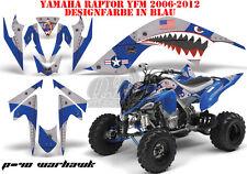 AMR RACING DEKOR GRAPHIC KIT ATV YAMAHA RAPTOR 125/250/350/660/700 P40 WARHAWK B