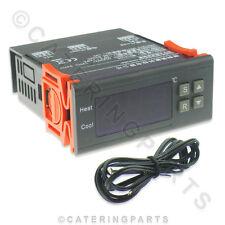 Termostato Digital Controlador -40 ° a +120 ° Calefacción Refrigeración NTC MH12 220V 10AMP