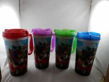 Disney Parks Insulated Travel Mug 16 oz cup  set of 4 different colors