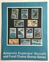 MAAT46) Australian Antarctic Territory 1973 Definitives (12) Stamp Pack MUH