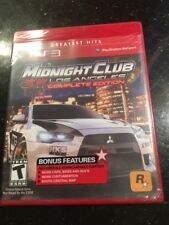 Midnight Club: Los Angeles Complete Edition Greatest Hits Sony PlayStation New