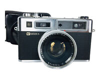 Vintage G Yashica Electro 35 Yashinon-DX 1:17 45MM Rangefinder Camera Japan