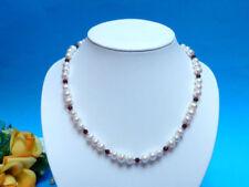 Natürliche Echtschmuck-Halsketten & -Anhänger mit Schönheits-Granate