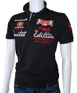 Rusty Neal Polo Shirt Poloshirt Größe M