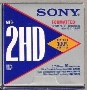 "3.5"" Floppy Disks 1.44 Mb MFD 2HD PC/IBM Formatted x100"