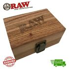 RAW Wood Rolling Stash Gift Box Classic Magnetic Divider Storage Box Gift