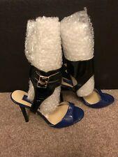 HM JIMMY CHOO Tacchi Blu Sandles scarpe utilizzate, Pre-Owned Donne Ragazze Taglia 3 36