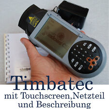 MINI-PC PDA CON WIN CE TIMBATEC TASCA PC LASER SCANNER TOUCHSCREEN PROVA D'URTO