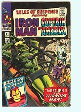 Tales of Suspense 81 7.5 VF- Iron Man Captain America Marvel Comics Rare