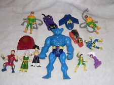 Marvel Xmen Action figure lot Dragon Ball Z & Spiderman SUPER HERO Mixed lot @@