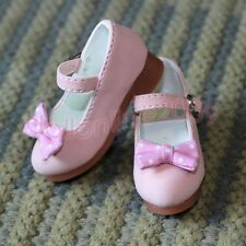 1/4 MSD Leather Shoes Mini Super Dollfie BJD pink DB04 AOD DOD DK DZ Luts AF DL