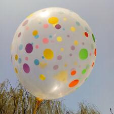 6 x transparent Balloons Latex baby birthday Party Decoration Wedding Supplies