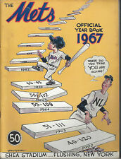 1967 New York Mets year book, very good condition Tom Seaver Rookie