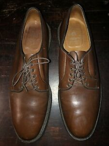 Alden New England * Men's Size 11.5 * Oxford Dress Shoes * Brown Leather 946