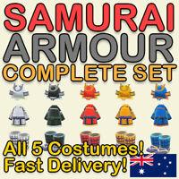 Samurai Clothing Set - Helmets, Costume ⛩ Animal Crossing New Horizons ⛩