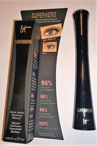IT Cosmetics Superhero Volumizing Mascara Super Black - Full Size - New in Box