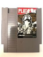 Platoon Original Nintendo NES Game Cartridge Cleaned & Tested + Authentic!